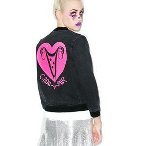 """Valfre Jackets & Coats - Valfre """"grow a pair"""" jacket (Dolls Kill)"""